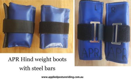 APR hind weight boots 2 web