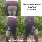 Core Support Suede Seat Jodphurs